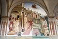 Storie di s. benedetto, 13 sodoma - Come Benedetto libera uno monaco indemoniato percuotendolo 01.JPG