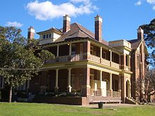 'Lauriston' was built in 1907, designed by architect Alfred Newman