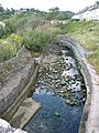 Stream works its way down to the sea - geograph.org.uk - 569937.jpg