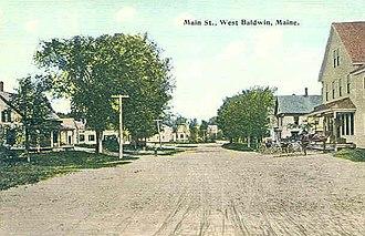 Baldwin, Maine - Pequawket Trail c. 1906