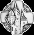Strieborný križ Žilinskej diecézy.png