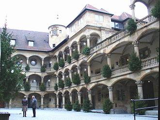 Old Castle (Stuttgart) - Image: Stuttgart altes schloss innenhof