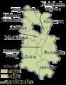 Subcarpathian Voivodeship - krośnieński county gminas.png