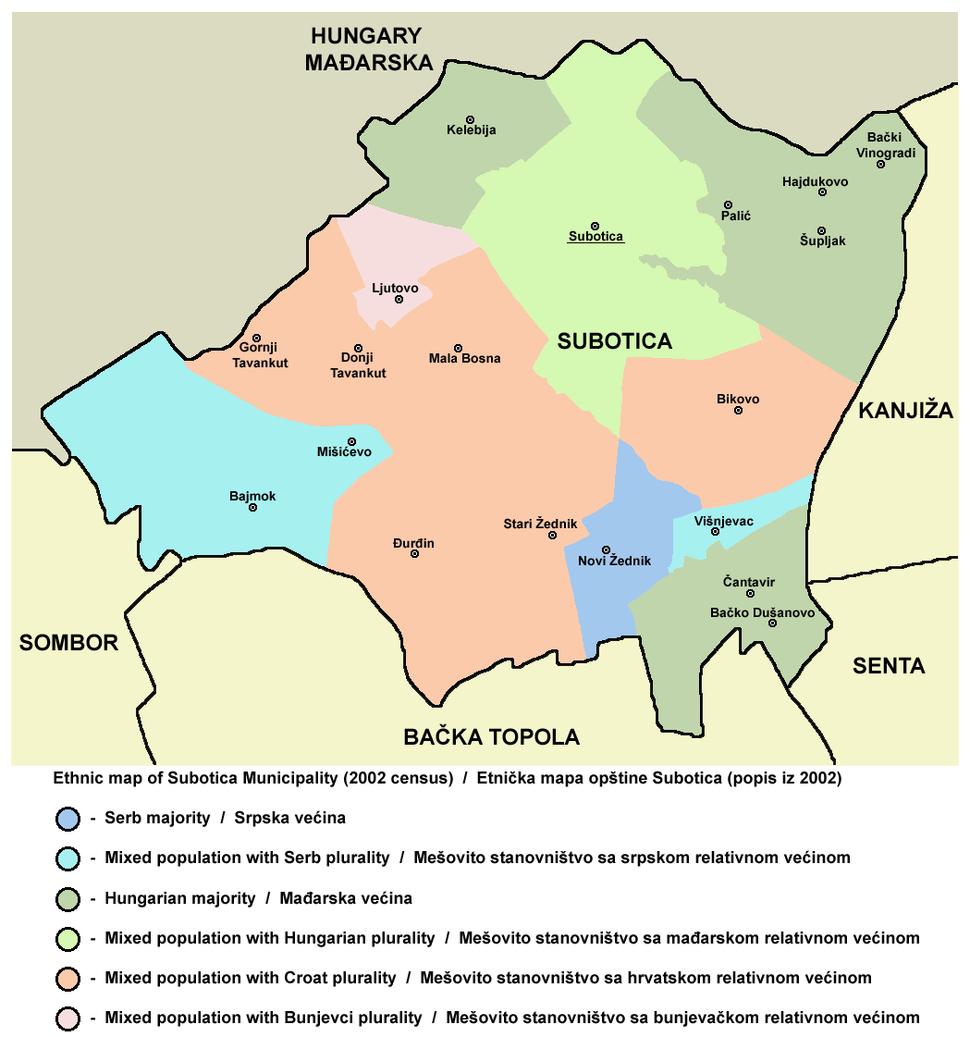 Subotica ethnic mun