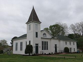 Chuckatuck Historic District - Wesley Chapel, April 2013