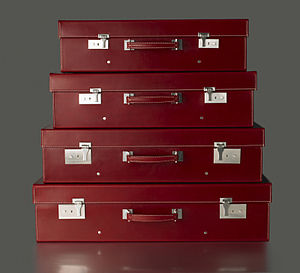 Baggage - A set of custom made (bespoke) suitcases.