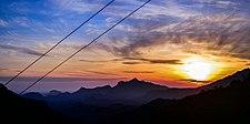Sunrise at Munnar,Kerala.jpg