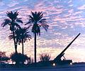Sunset at big guns.JPG