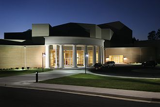 Piedmont College - The Swanson Center, built in 2007, is home to the Mass Communications department and Performing Arts.
