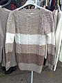 Sweater knitted on V-bed flat machine.jpg