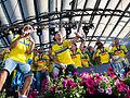Sweden national under-21 football team celebrates in Kungsträdgården 2015-20.jpg