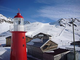Skiarena Andermatt-Sedrun - Some of the Oberalp ski area. You can see the old Alpsu lift on the right