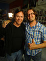 Syfy Collection Intervention - Battlestar Galactica - Richard Hatch and Mike Wellman (14155244051).jpg