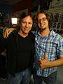 Syfy Collection Intervention - Battlestar Galactica - Richard Hatch and Mike Wellman (14155244051).jpg