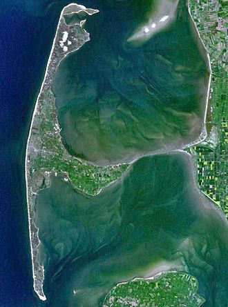 Sylt - satellite image of Sylt