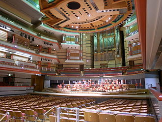 Birmingham City Organist - The organ in Symphony Hall, Birmingham, where many of the free public organ recitals are given