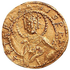 Coinage in the Kingdom of Hungary - Stephen's gold coin
