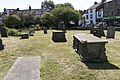 THREE CHEST TOMBS IN CHURCHYARD TO SOUTH OF ENTRANCE TO CHURCH OF ST MARY 4.jpg