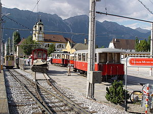 Tiroler MuseumsBahnen - Sidings at the Tyrolean Museum Railways
