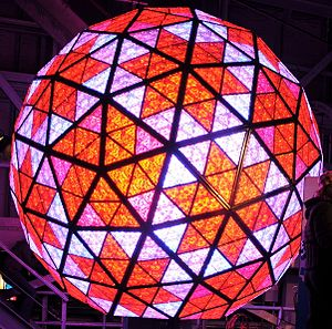 Fiskars - Waterford Crystal Ball, designed for the New Year's celebrations at Times Square
