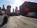 TTC streetcar 4080 crosses Spadina, 2014 12 20 -a (15881083458).jpg