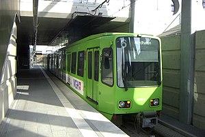 DÜWAG - TW 6000 car of Hanover Stadtbahn