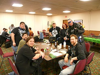 Tabletop role-playing game - Role-players at a small convention