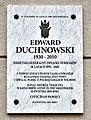 Tablica Edward Duchnowski ul. Narbutta 53.jpg