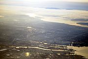 Tacoma, Washington aerial view 01