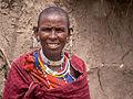 Tanzania - Massai woman (14495410921).jpg