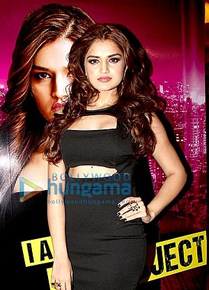 Tara Alisha Berry - Berry at the press conference of Love Games
