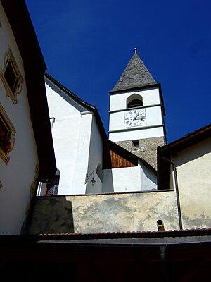 Tarasp - Church in Tarasp-Fontana
