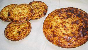 Rijstevlaai - Image: Tarte au riz