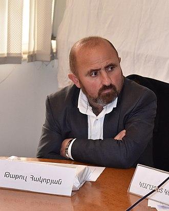 Tatul Hakobyan - Hakobyan in 2018