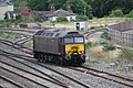 Taunton - West Coast 57314 arriving in loco sidings.JPG
