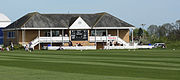 The pavilion at Taunton Vale