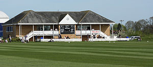 Taunton Vale Sports Club Ground - Image: Taunton vale pavilion