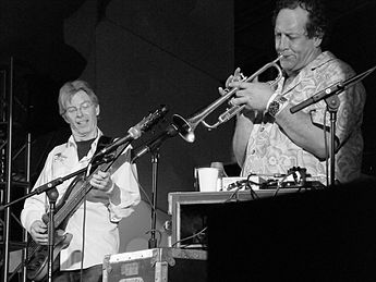 Phil Lesh (left) performing with TelStar in 2008 TelStar featuring Phil Lesh, 2008 (1).jpg