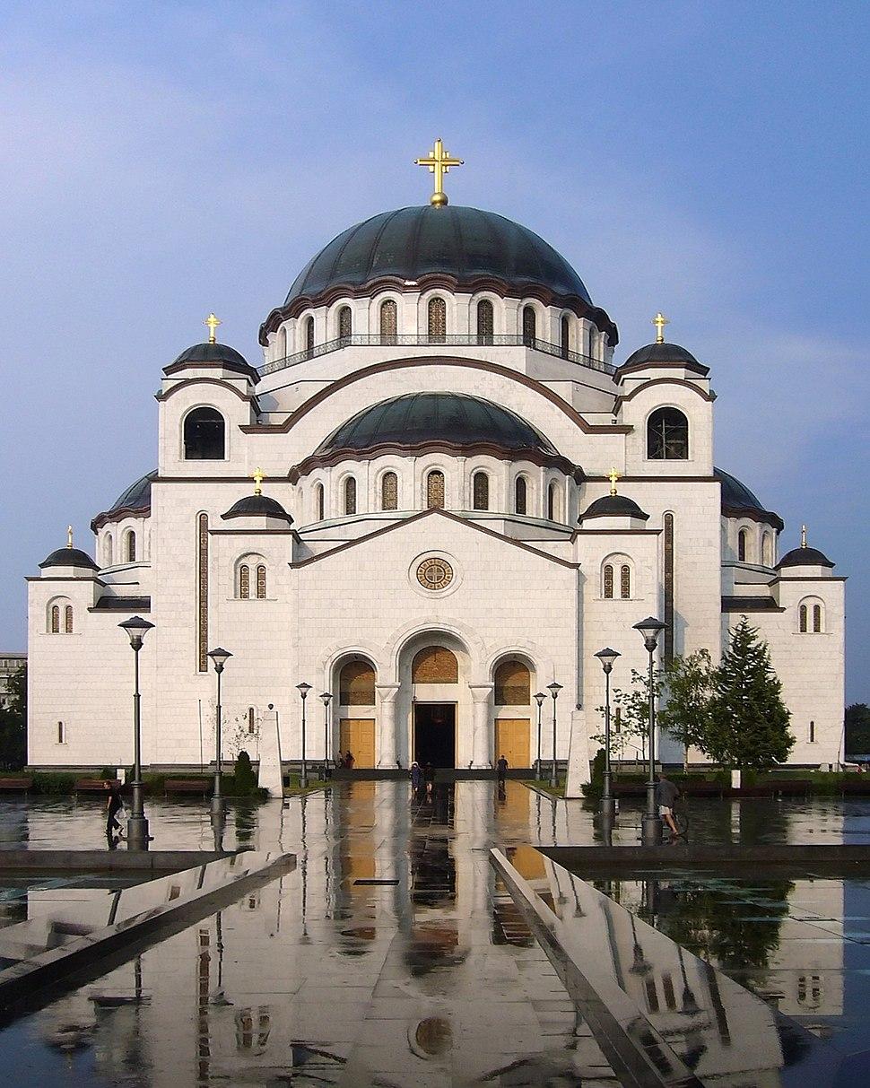 Temple Saint Sava crop
