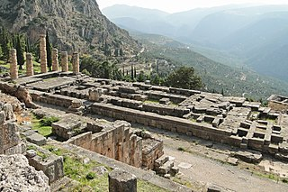 Temple of Apollo (Delphi) ancient greek temple