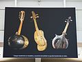 Temporary exhibition about WWI, gare de Paris-Est, 2014 (music instruments of trench art).jpg