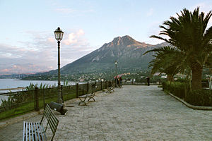 Termini Imerese, Belvedere with view to Monte ...