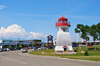 Terrace Bay Township in Ontario, Canada