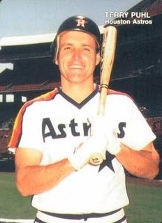 Terry Puhl Canadian baseball player