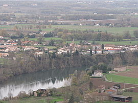 A general view of Terssac