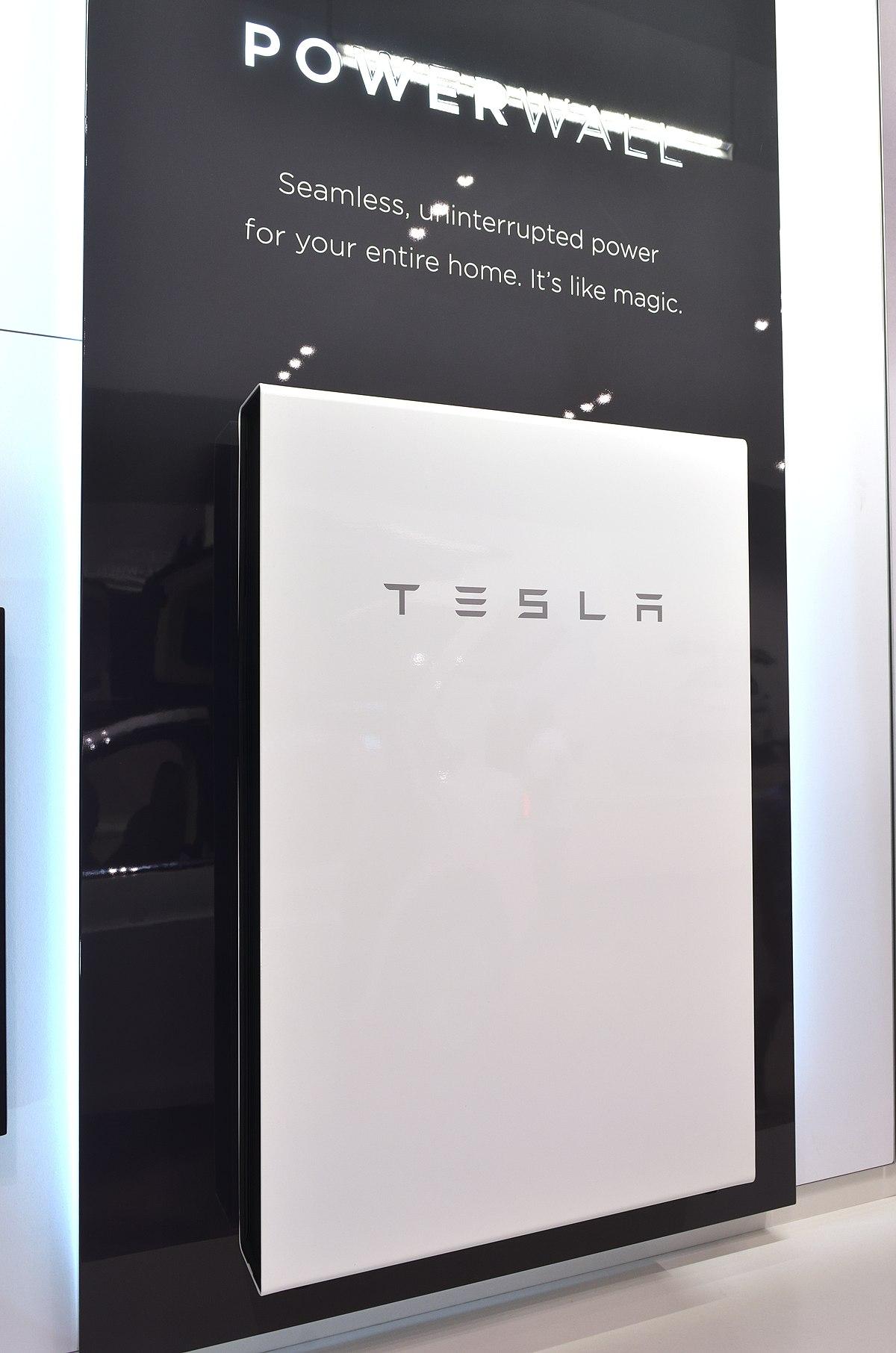 Tesla Powerwall - Wikipedia, la enciclopedia libre