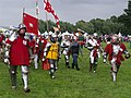 Tewkesbury Medieval Festival 2008 - To battle.jpg