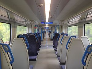Thameslink - Interior of the new Thameslink Class 700 trains