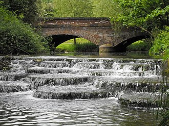 University of Buckingham - A weir and mill that fall within Buckingham University's Hunter Street campus.