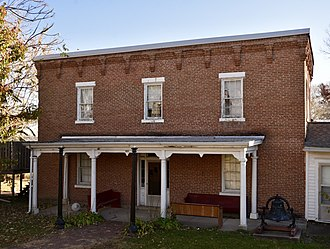 National Register of Historic Places listings in Appanoose County, Iowa - Image: The Appanoose Sheriff's House and Jail
